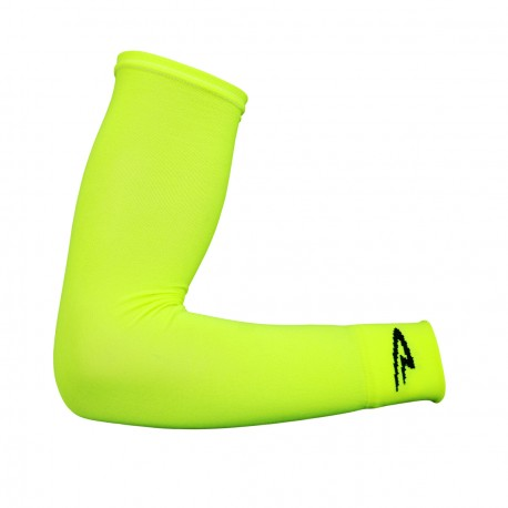 Defeet armskins SL yellow neon