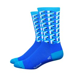 DeFeet Aireator Framework blue socks