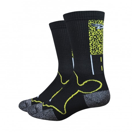 "Chaussettes DeFeet Levitator Trail Gravel ""MAPLE SALLY"""