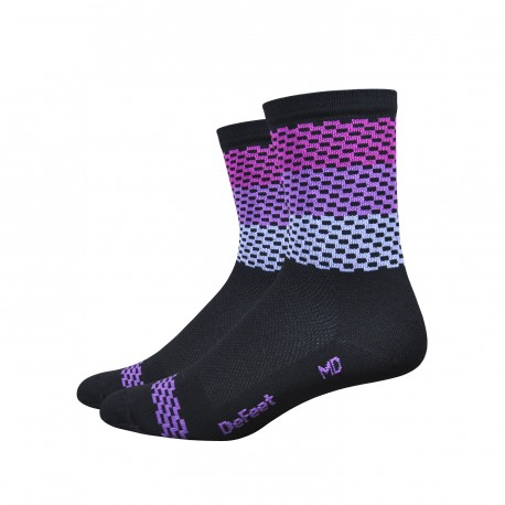 Chaussettes DeFeet Aireator 4 pouces Charleston High Rouleur