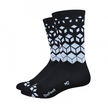 "Chaussettes DeFeet Aireator 6 pouces ""on the rocks"" High Rouleur"