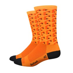 DeFeet Aireator Framework  orange socks