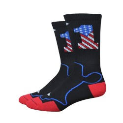 Chaussettes DeFeet Levitator Trail USA