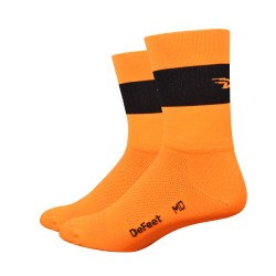 Chaussettes Aireator Team DeFeet orange