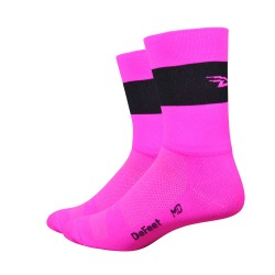 Chaussettes Aireator Team DeFeet rose