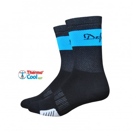 "Defeet Cyclismo 5"" trico black and process blue"