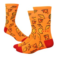 "Chaussettes Defeet Aireator 6"" Pizza Party"