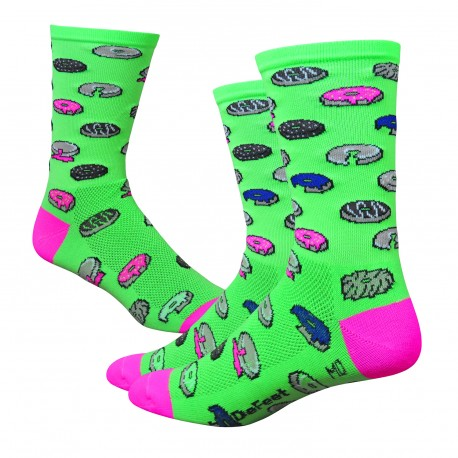 "Chaussettes Defeet Aireator 6""Donut"
