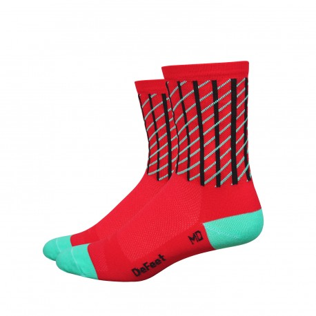 DeFeet Aireator 4 inches Net High Rouleur socks