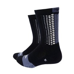 Defeet Thermeator Tread with grey Tread Pattern grey socks