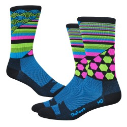 "Chaussettes DeFeet Aireator  ""Cosmic"""