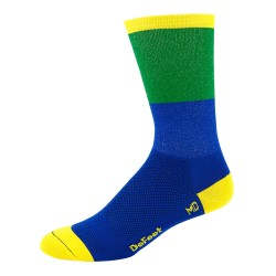 DeFeet Aireator Barnstormer Blockhead blue and green