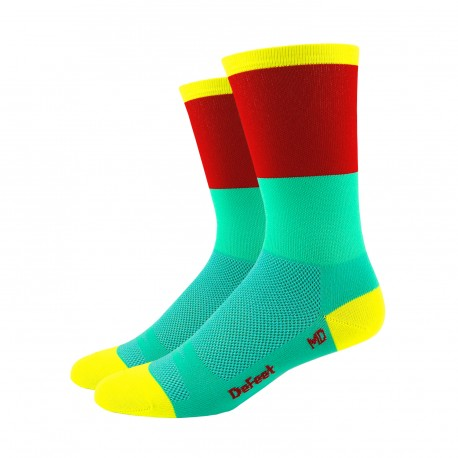 DeFeet Aireator Barnstormer Blockhead celeste and green