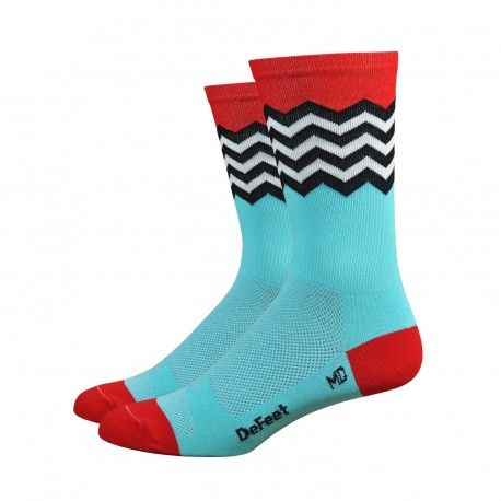 Chaussettes DeFeet Aireator Barnstormer Fuse