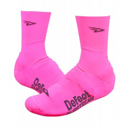 Defeet Slisptream Flamingo pink oversocks