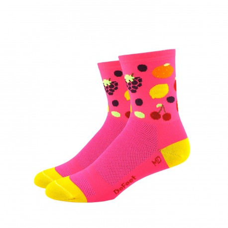 Chaussettes DeFeet Aireator Tutti Frutti 3 pouces