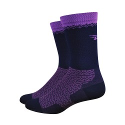 DeFeet Levitator Lite navy blue and purple