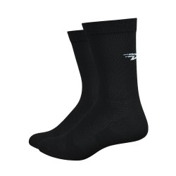 DeFeet Levitator Lite black with 6 inch cuff