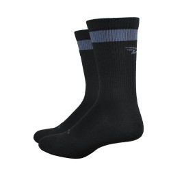 Chaussettes Defeet Levitator Trail DirtBagger graphite