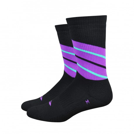 Defeet Thermeator Twister WildBerry socks