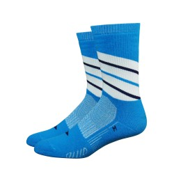 Chaussettes Defeet Thermeator Twister bleu