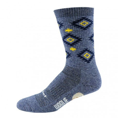 Defeet woolie boolie 6 inches Admiral Blue Aztec