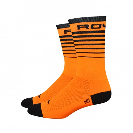 Chaussettes DeFeet Aireator 6 pouces Royal Socks Orange