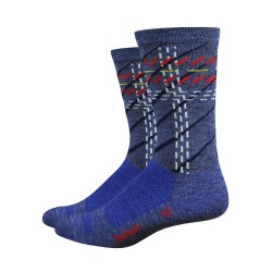 Chaussette Defeet Wooleator tall Argyle