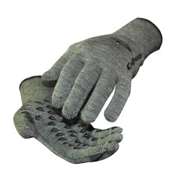 DeFeet Duragloves Etouch Wool Comp Loden Green grey