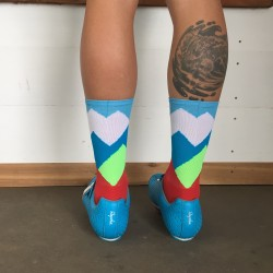 Chaussettes DeFeet Ridge Supply The Alpine Grand Fondo