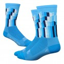 Chaussettes DeFeet Ridge Supply Grid bleu
