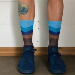 Chaussettes DeFeet Ridge Supply Skyline Hibernate