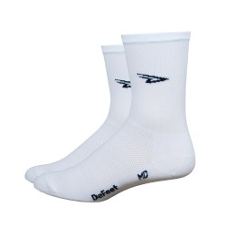 Chaussettes Defeet Aireator Hi-Top blanc