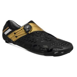Bont Helix cycling shoes, black & gold