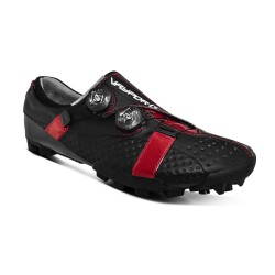 Bont Vaypor G shoes black or black/red