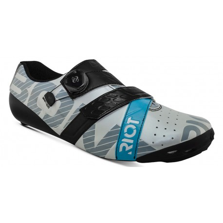 Chaussures Bont Riot + Pearl / White Black