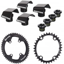 Rotor Qrings chainring set for Shimano Ultegra 6800/8000 or Dura Ace 9000/9100