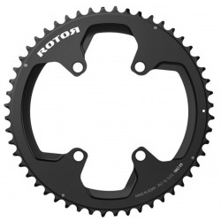 Rotor NOQ chainring for Aldhu, Shimano 6800/R8000 and DA 9000/9100 34,36,39,42,44,50,52,53,54,56,58T