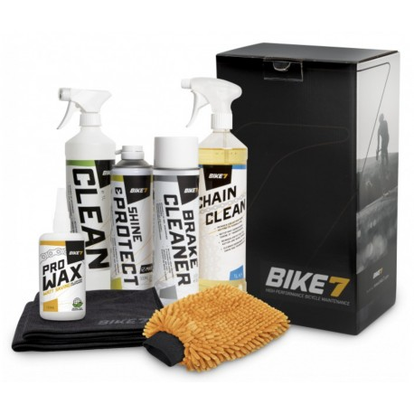 Bike7 Carepack WAX cleaning kit