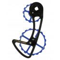 CyclingCeramic Oversized Derailleur cage 14/19 Blue