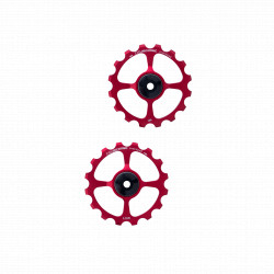 paire de galets 16 dents cyclingceramic