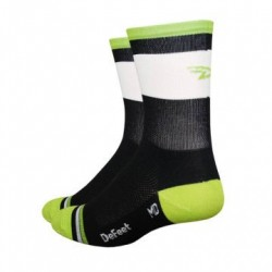 Chaussettes Defeet Grupetta Hi-Top Lime