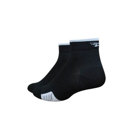 "Defeet Cyclismo 1"" stripe black"