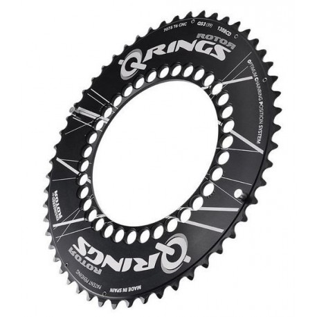 Grand plateau Rotor Q Ring Aéro 130 (50,52,53,54,55,56)