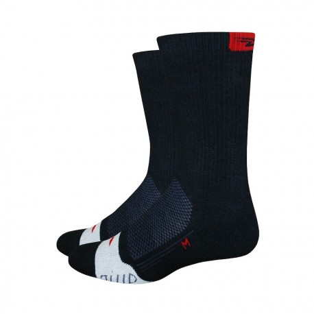 Chaussettes Defeet Thermeator rouge