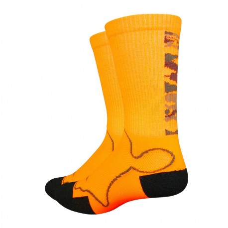 Chaussettes Defeet Levitator Trail orange