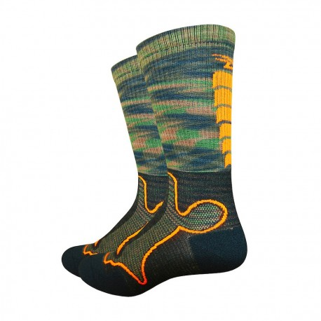 Chaussettes Defeet Levitator trail camouflage