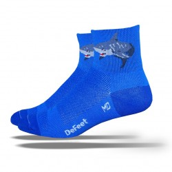 "Chaussettes Defeet Aireator  ""shark attack"""