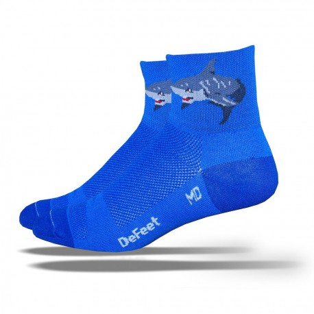 "Defeet Aireator Hi-Top ""shark attack"""