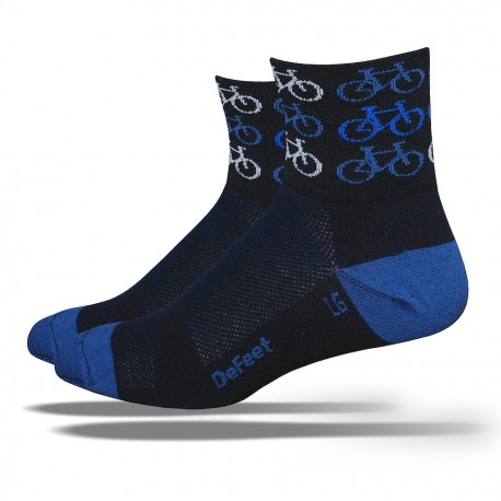"""Chaussettes Defeet Aireator  """"cool bikes"""""""
